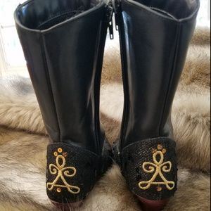 Disney Shoes - *SOLD* Disney Store Anna costume boots size 13-1